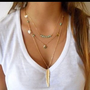 Feather Necklace 😍